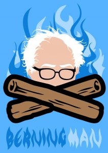 Berning Man poster